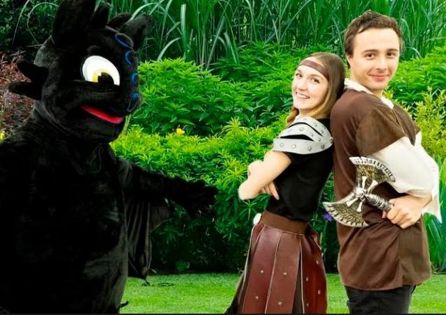 Как приручить дракона: детский день на замке Збирог
