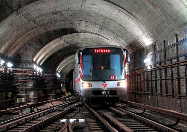 В воскресенье на ремонт закроют участок красной ветки пражского метро