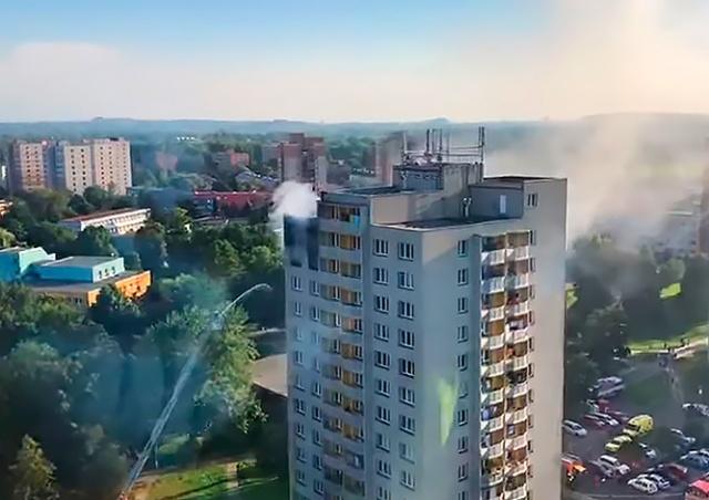 В Чехии при пожаре в жилом доме погибли 11 человек