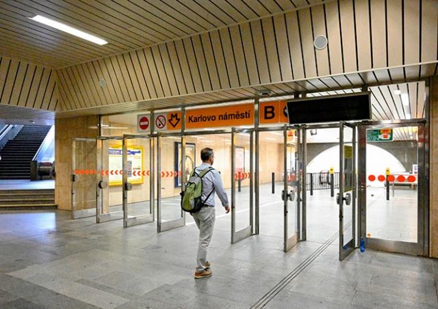 Половину станций пражского метро покрыли сигналом LTE