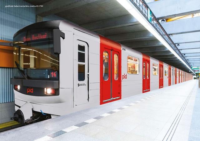 Общественный транспорт в Праге перекрасят в серо-красный цвет