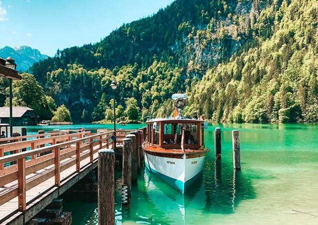Проведите субботу на самом чистом озере Германии - Кенигзее