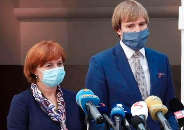 Главный санитарный врач Чехии заразилась коронавирусом