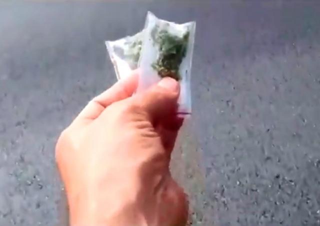 Дрон разбросал над Тель-Авивом десятки пакетиков с марихуаной