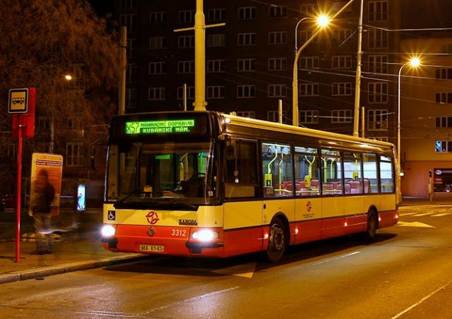 Из-за коронавируса в Праге сократят рабочее время автобусов