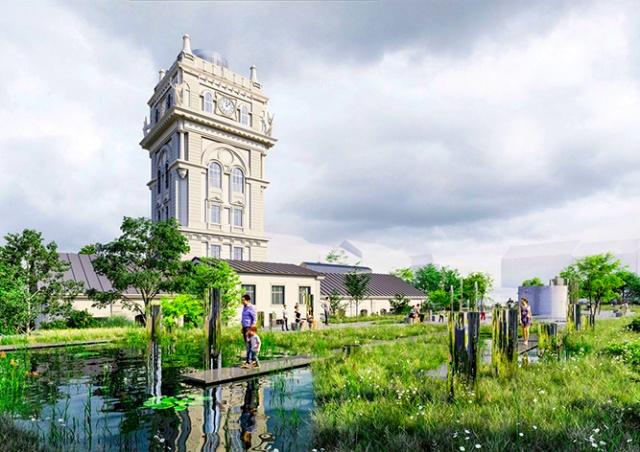 Виноградскую водонапорную башню превратят в просветительский центр