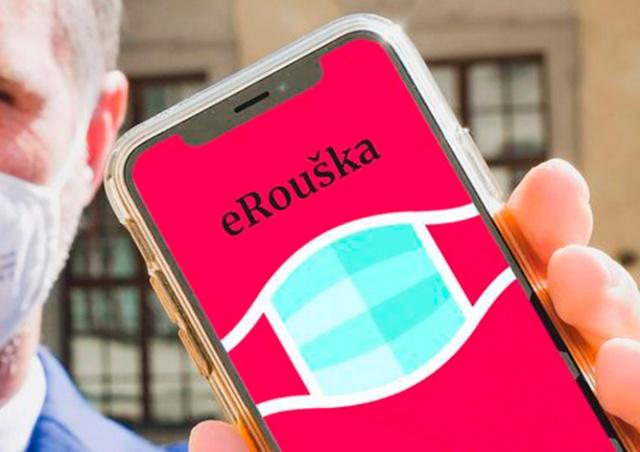 Минздрав Чехии через СМС попросил жителей установить приложение eRouška