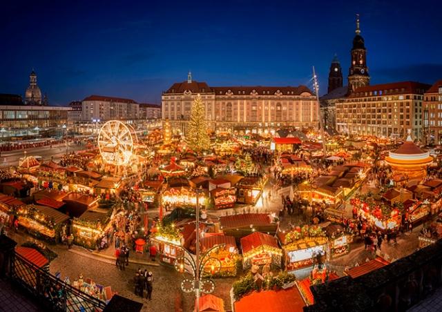 В Дрездене отменили рождественскую ярмарку Штрицельмаркт