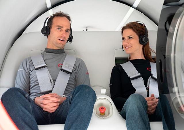 Hyperloop Илона Маска впервые испытали с пассажирами на борту