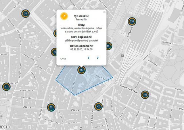 Насколько криминальный ваш район: полиция запустила онлайн-карту преступности