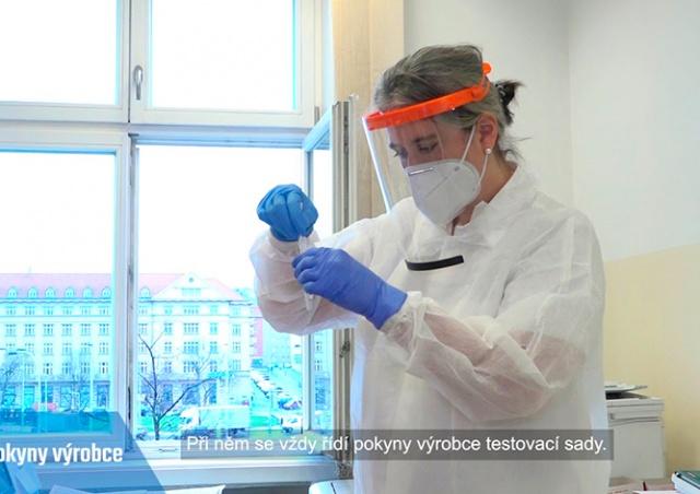 В Чехии началось бесплатное массовое тестирование на коронавирус