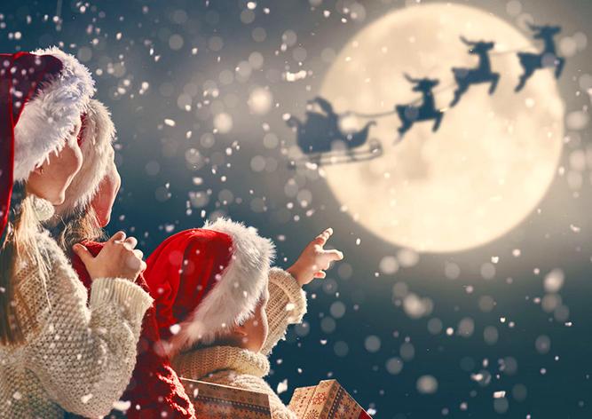 Санта-Клаус принялся за работу. Следить за его полетом можно онлайн