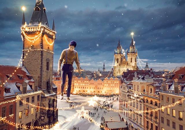 Рождественская реклама мировых брендов, снятая в Чехии: лучшие ролики