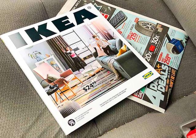 IKEA перестанет печатать свой каталог, который выходил 70 лет подряд