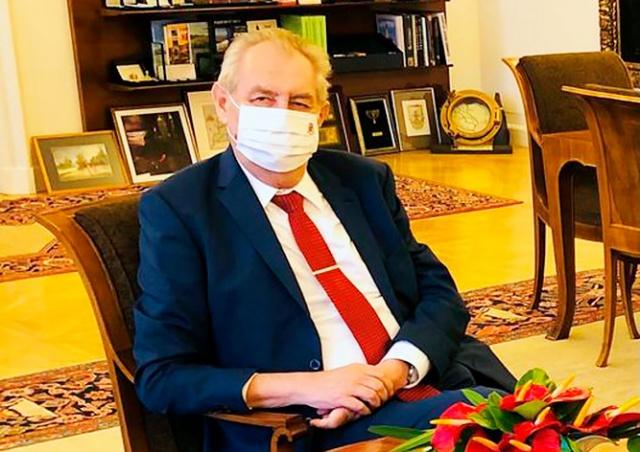 Президент Чехии привился от коронавируса