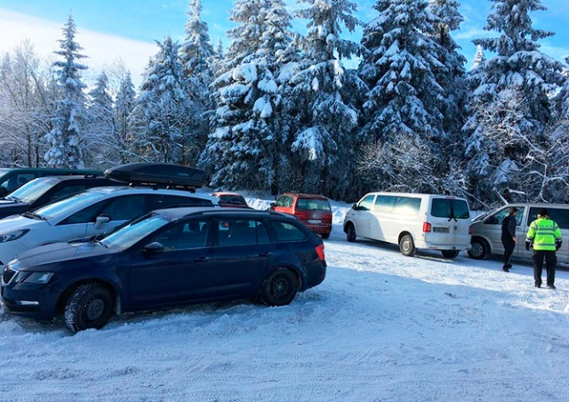 Жители Чехии массово отправились в горы, проигнорировав призыв правительства