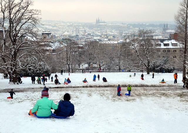 Синоптики: Чехию ждет снежная неделя