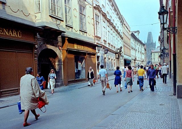 Чехословакия 1980 года глазами английского фотографа Алана Денни