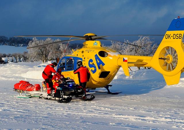 Турист погиб под лавиной в чешских горах
