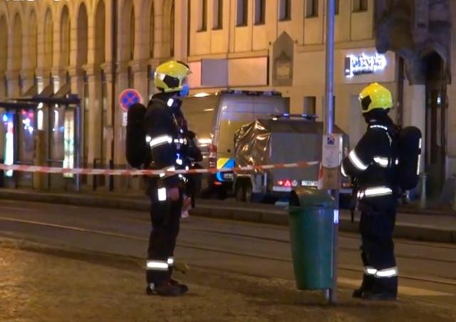 Вокзал Масарика в Праге эвакуировали из-за подозрительного чемодана
