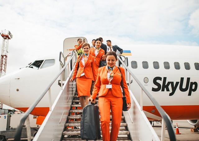 SkyUp открыл продажу билетов на новые рейсы из Киева в Чехию