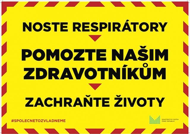 В Чехии улицы увесят баннерами с призывом соблюдать карантинные меры