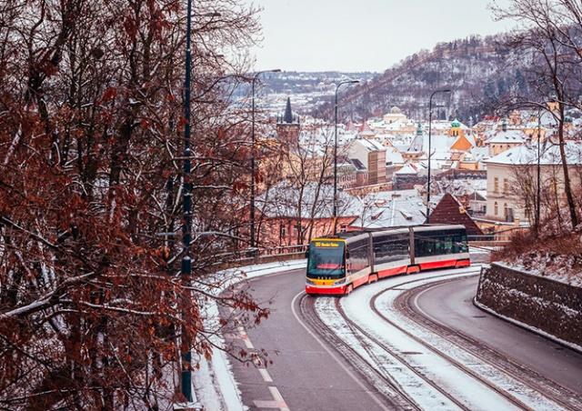 Красота продолжается: в Чехию идут новые снегопады