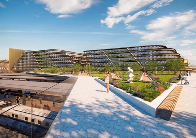 В Праге началось строительство проекта архитектора Захи Хадид