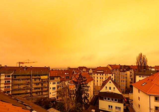 В выходные Чехия вновь получит «привет» из Сахары