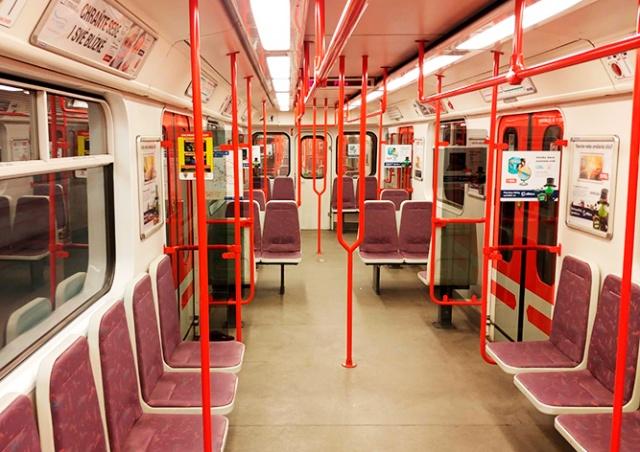 Как сильно упал пассажиропоток в транспорте Праги: статистика