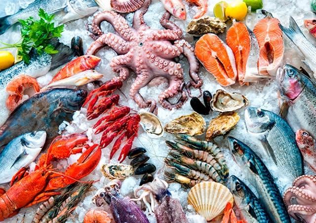 Пражский магазин морепродуктов Ocean Food снизил цены по случаю 8 Марта