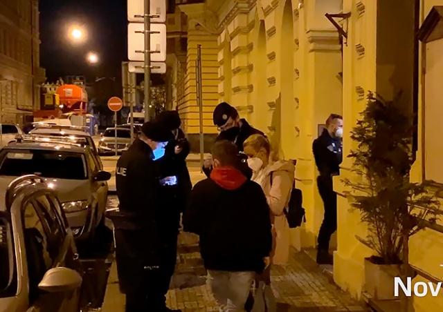 Полиция разогнала подпольную вечеринку в центре Праги
