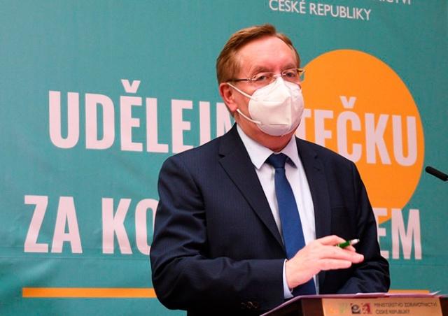 Минздрав Чехии: людям без прививки придется тестироваться для получения услуг