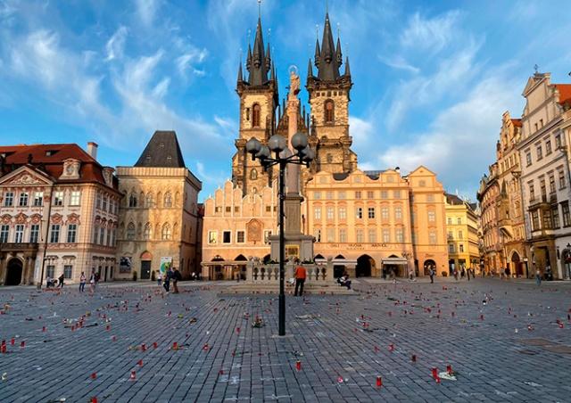Чехия вышла на первое место в мире по смертности от коронавируса