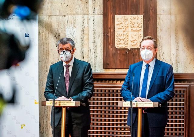 Правительство Чехии представило план снятия карантинных ограничений