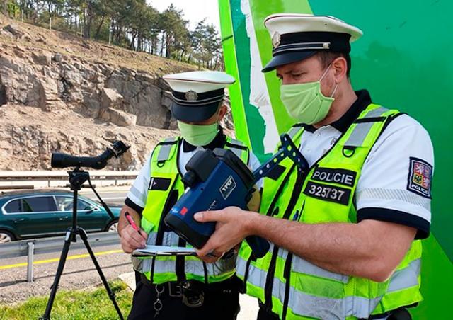 В Чехии 21 апреля пройдут массовые проверки скоростного режима