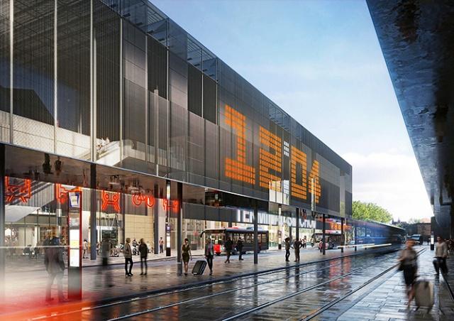 Власти Праги утвердили дизайн Смиховского терминала