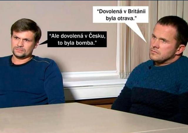 Дипломатический скандал породил бурю шуток в чешских соцсетях: едкие мемы
