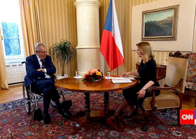 Земан рассказал, почему поддержал высылку сотрудников российского посольства