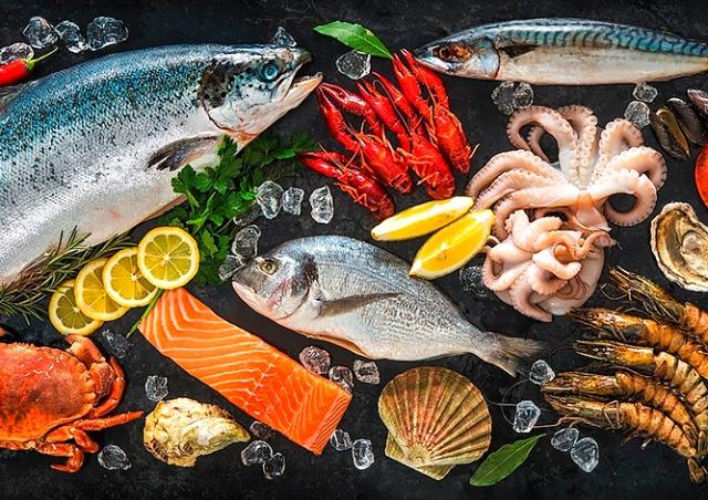 Акция в пражском магазине Ocean Food: креветки или чука в подарок