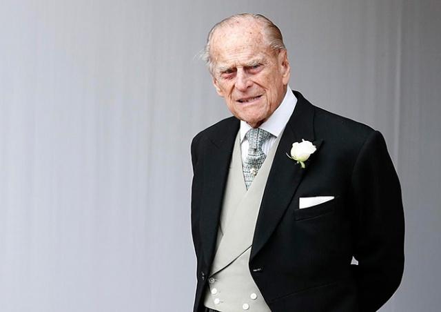 Скончался супруг королевы Елизаветы II принц Филипп