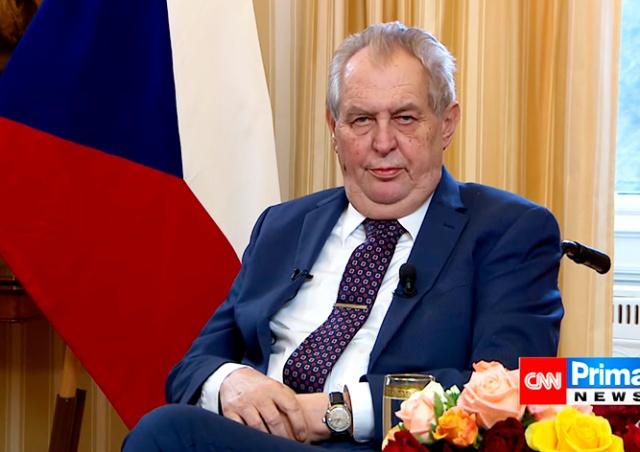 Земан назвал две версии взрыва склада во Врбетице