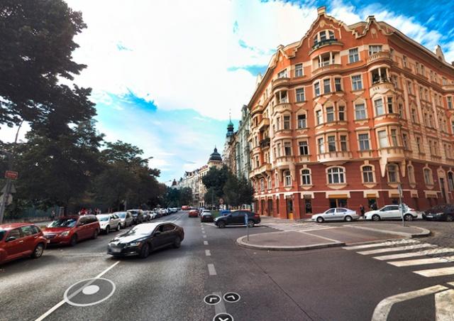 Сервис Mapy.cz обновит панорамы улиц