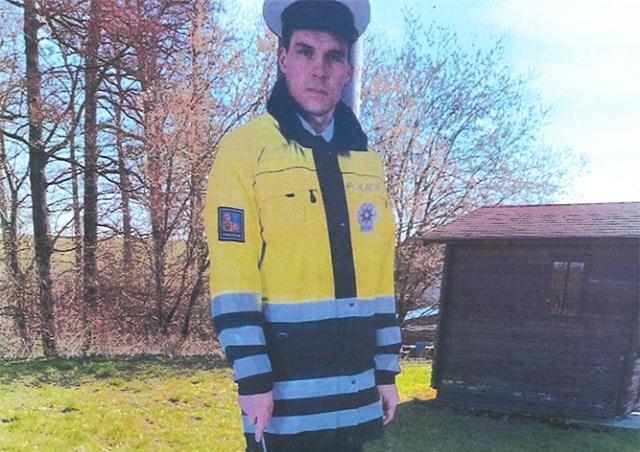 В Чехии неизвестные похитили «железного полицейского»