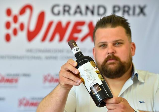 Названы победители чешского конкурса вин Grand Prix Vinex
