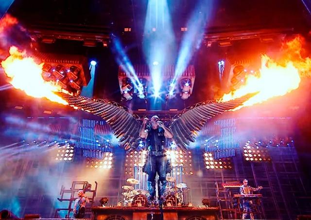 Rammstein даст концерт в Праге
