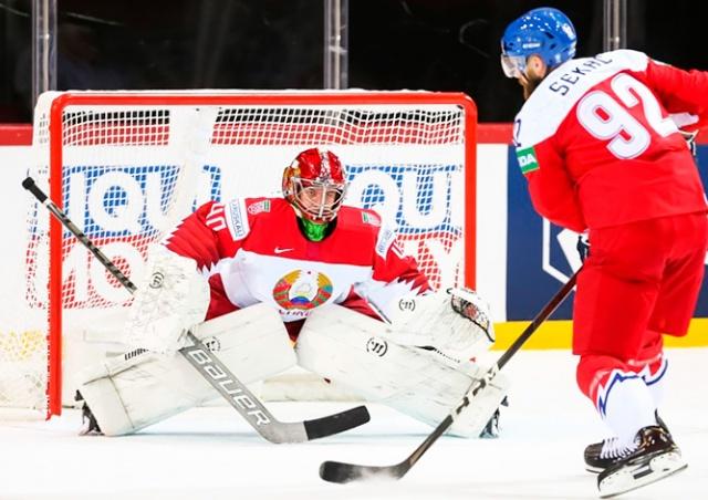 Чехия обыграла Беларусь на чемпионате мира по хоккею: обзор матча