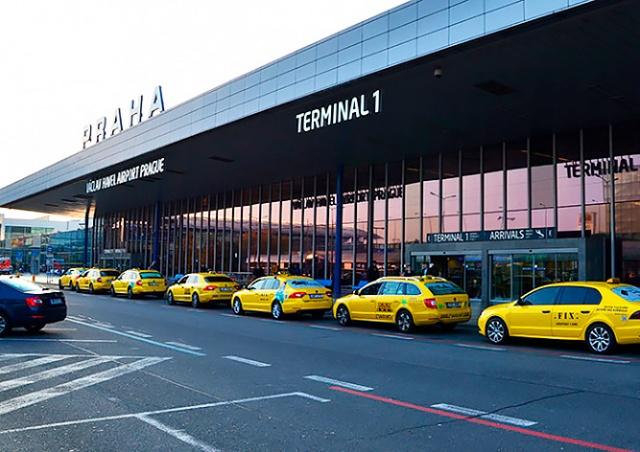 Пражский аэропорт улучшит услугу такси