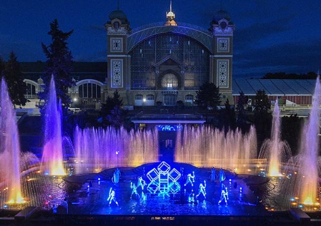 Поющие фонтаны в Праге открываются после реконструкции: видео