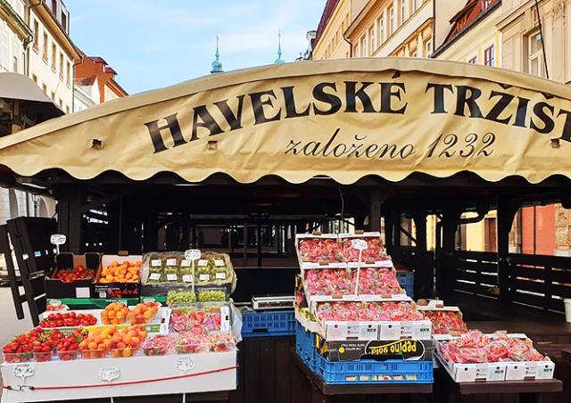 В центре Праги вновь открылся Гавельский рынок